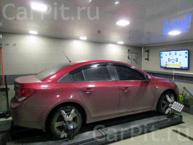 Сход-развал Chevrolet Cruze - 1