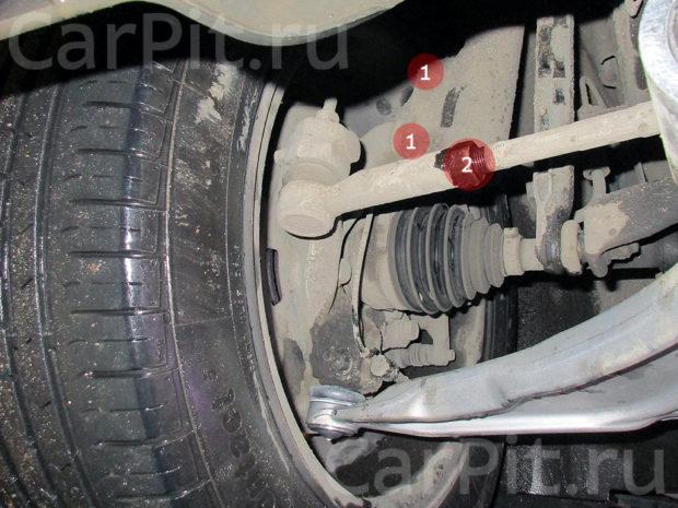 Сход-развал Chevrolet Cruze - 5