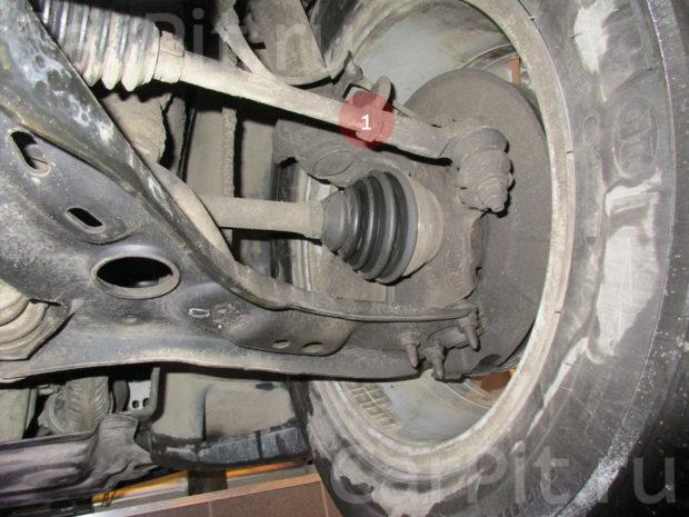 Сход-развал Volkswagen Tiguan - 6.