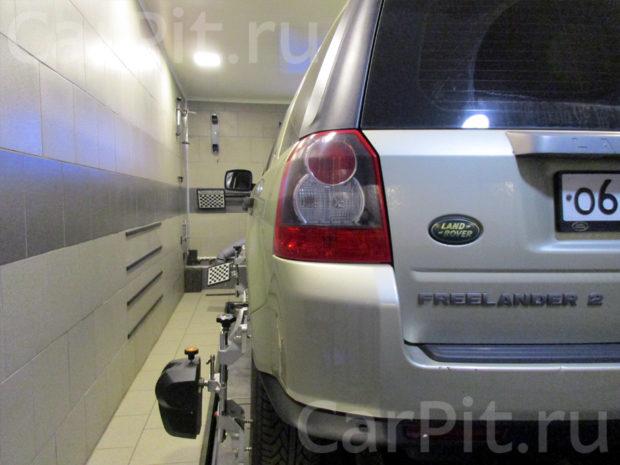Сход-развал Land Rover Freelander - 2