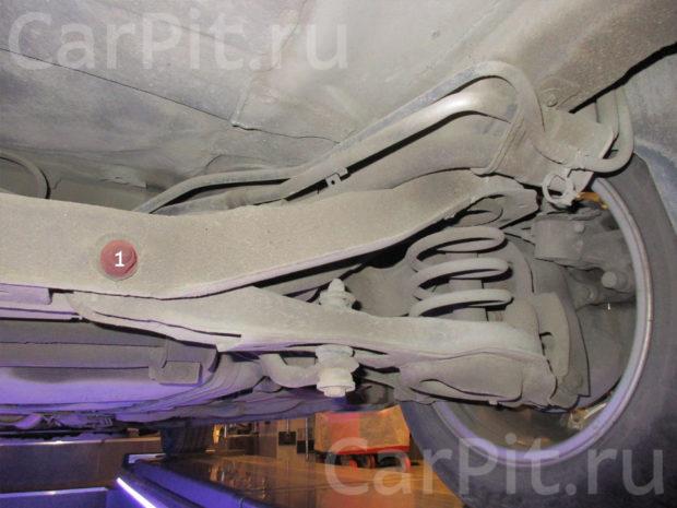 Сход-развал Volvo C30 - 4