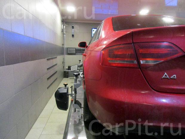 Сход-развал Audi A4 - 2