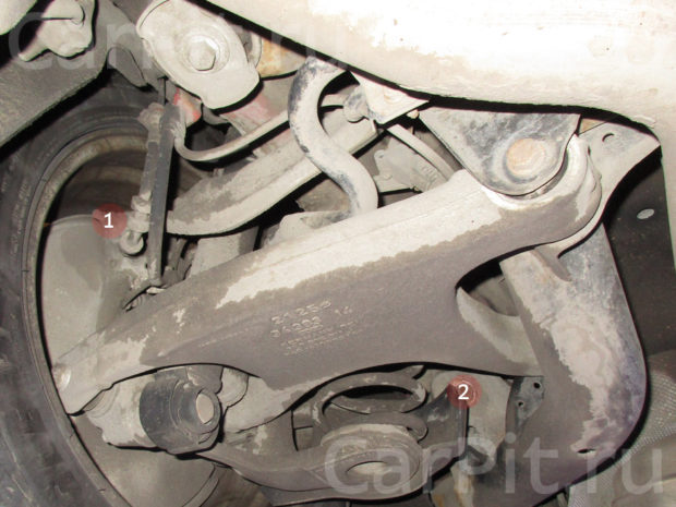 Сход-развал Audi A4 - 5
