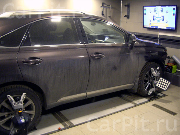 Сход-развал Lexus RX 350 - 1