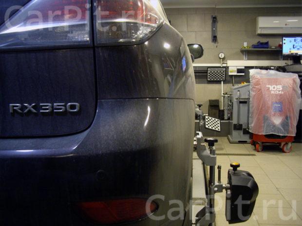 Сход-развал Lexus RX 350 - 2