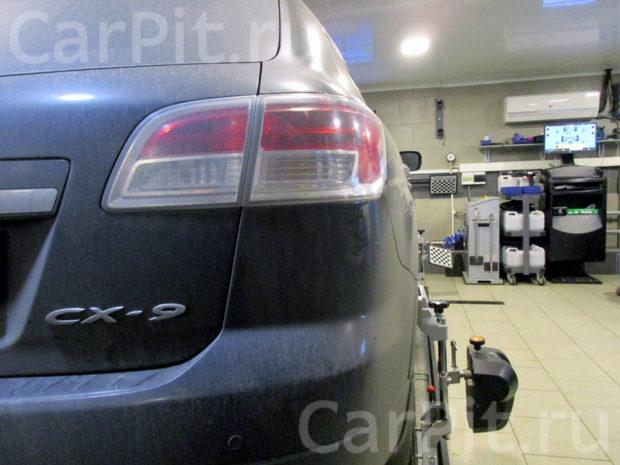 Сход-развал Mazda CX-9 - 2