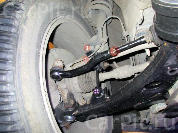 Сход-развал Mazda CX-9 - 5