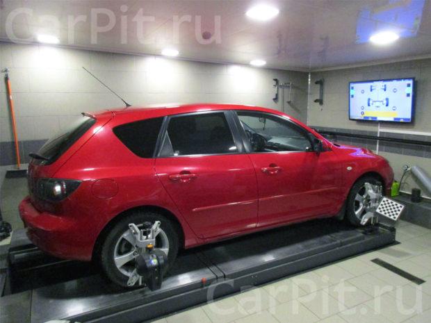 Сход-развал Mazda 3 - 1