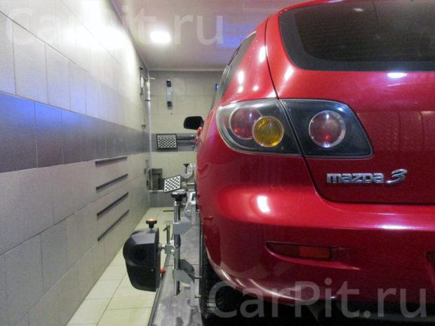 Сход-развал Mazda 3 - 2