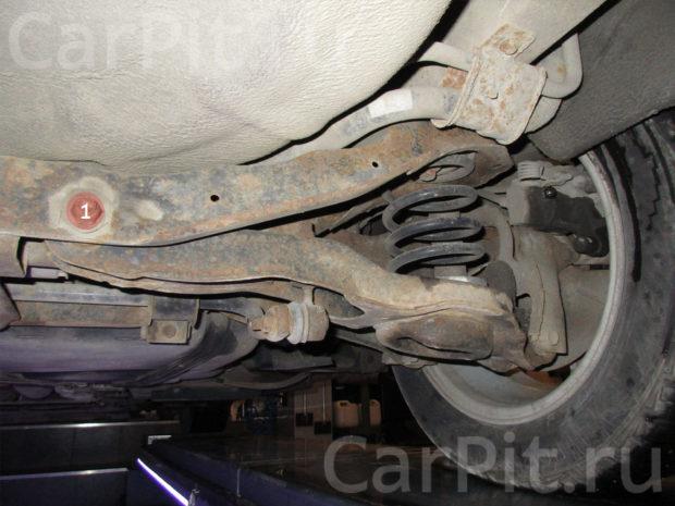 Сход-развал Mazda 3 - 4