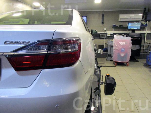 Сход-развал Toyota Camry 2