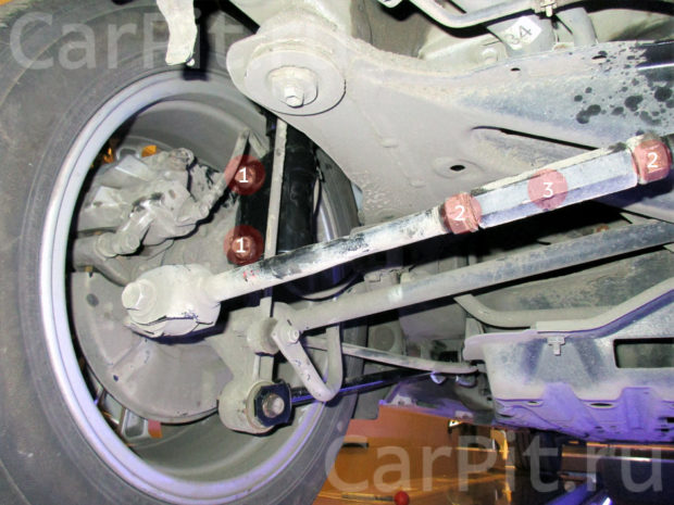Сход-развал Toyota Camry 4