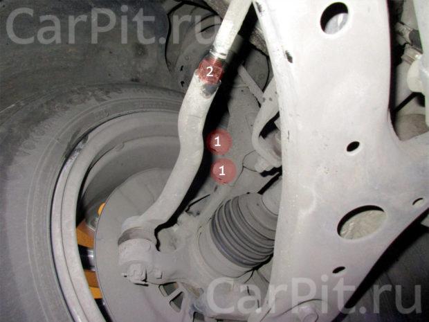 Сход-развал Toyota Camry 6