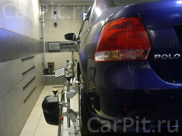 Сход-развал Volkswagen Polo - 2