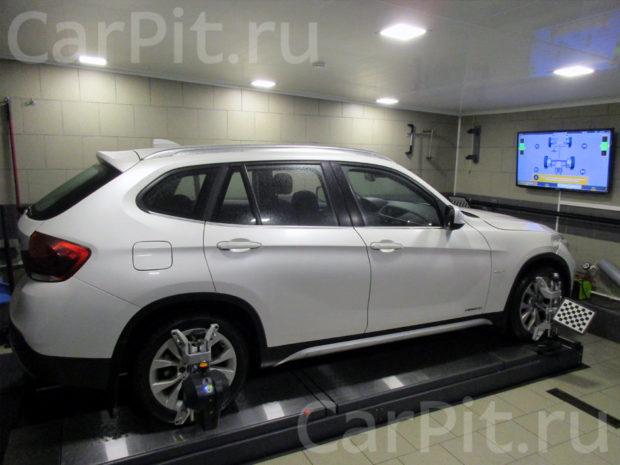 Сход-развал BMW X1 - 1
