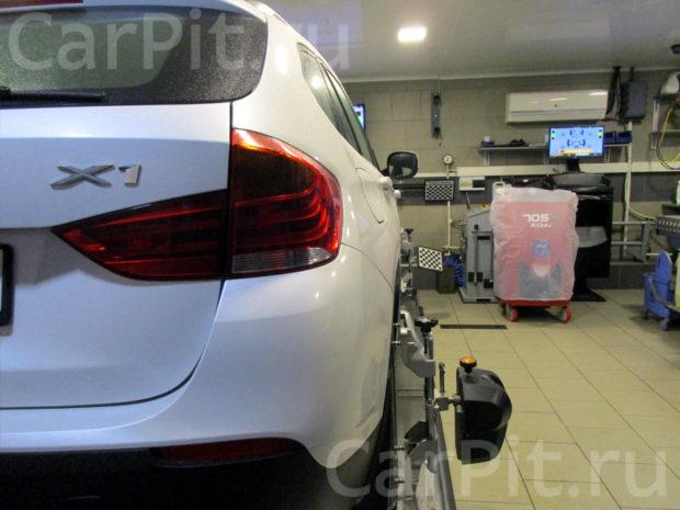 Сход-развал BMW X1 - 2
