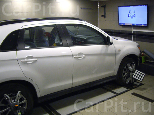 Сход-развал Mitsubishi ASX 2012 - 1