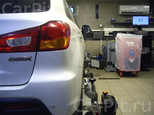 Сход-развал Mitsubishi ASX 2012 - 2