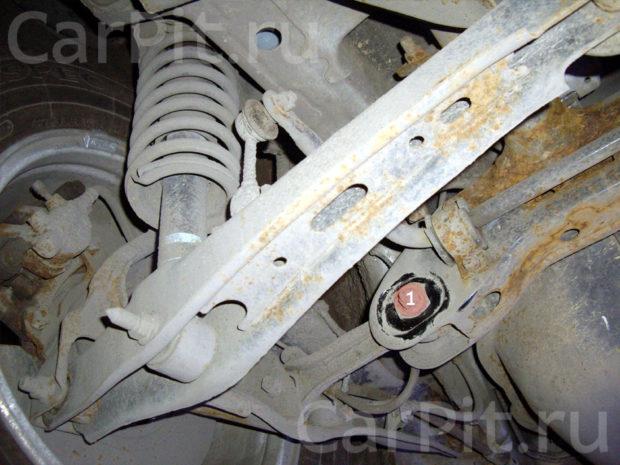 Сход-развал Mitsubishi ASX 2012 - 4