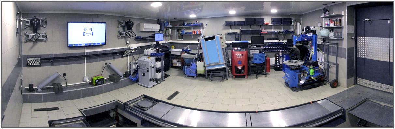Панорама мастерской