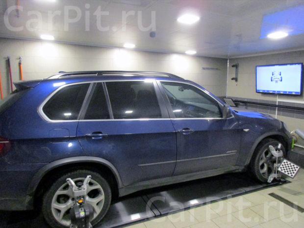 Сход-развал BMW X5 - 1