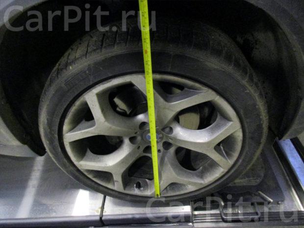 Сход-развал BMW X5 - 4