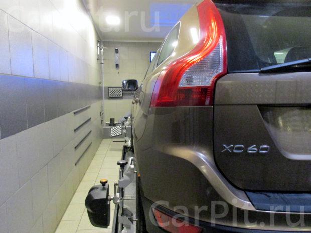 Сход-развал Volvo XC60 - 2