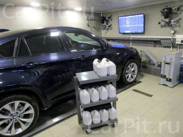 Сход-развал BMW X6 - 1