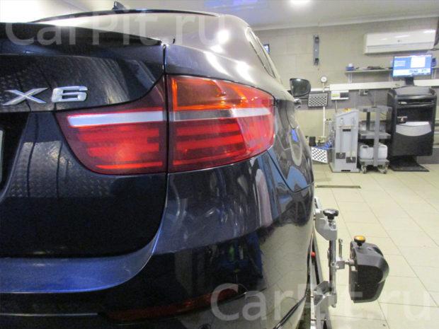 Сход-развал BMW X6 - 5