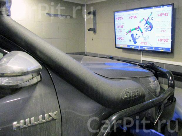 Сход-развал Toyota Hilux - 2