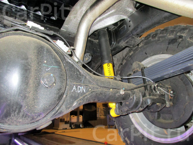 Сход-развал Toyota Hilux - 3