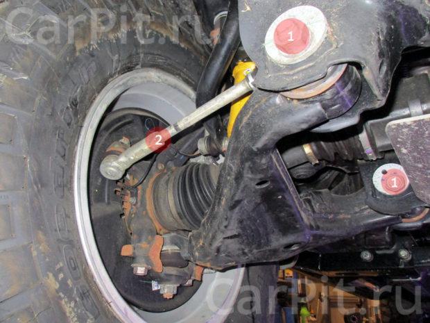 Сход-развал Toyota Hilux - 4