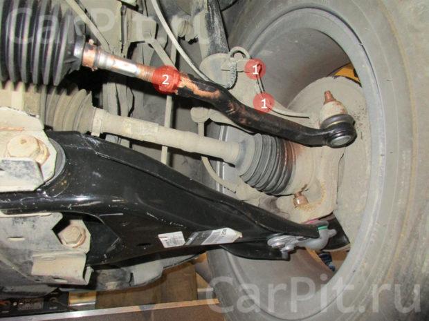 Сход-развал Renault Duster - 5