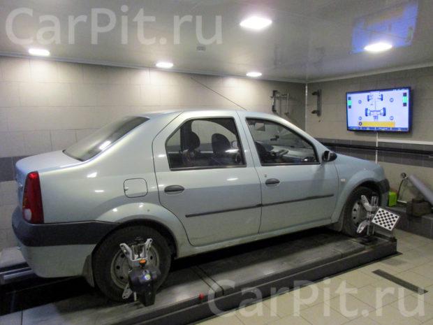 Сход-развал Renault Logan - 1