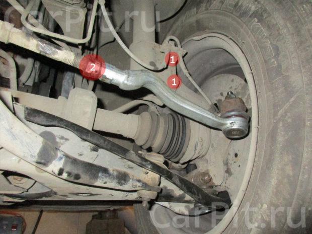 Сход-развал Renault Logan - 5