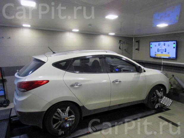 Сход-развал Hyundai Tucson - 1
