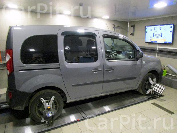 Сход-развал Renault Kangoo - 1