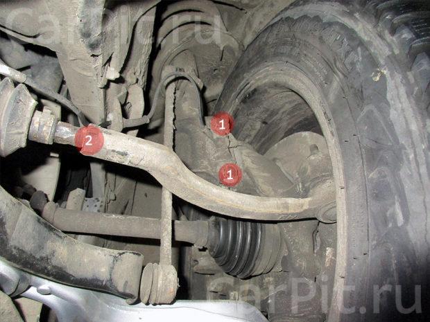 Сход-развал Volvo S60 - 5