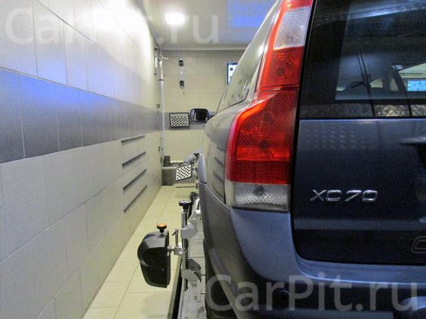 Сход-развал Volvo XC70 - 2