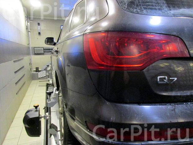Сход-развал Audi Q7 - 2