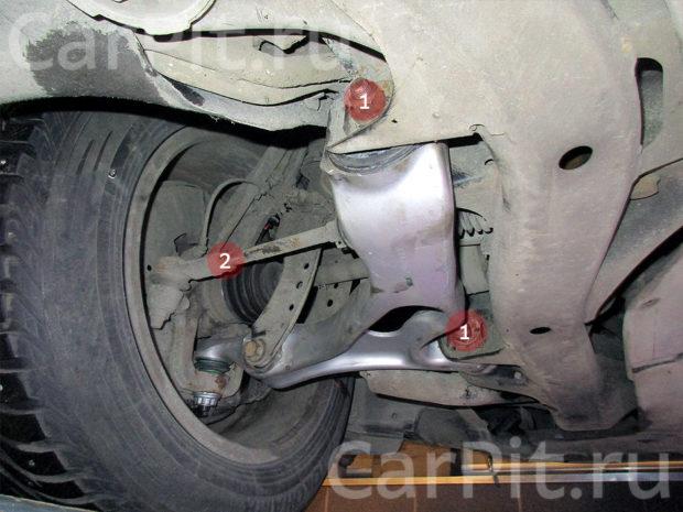 Сход-развал Audi Q7 - 5