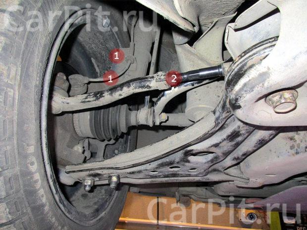 Сход-развал Chevrolet Aveo - 5