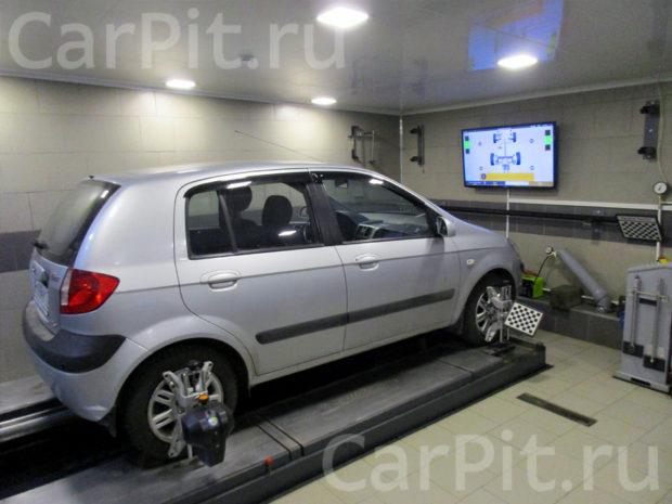 Сход-развал Hyundai Getz - 1