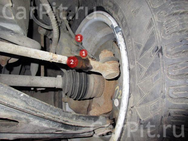 Сход-развал Hyundai Getz - 5