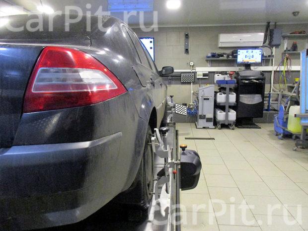 Сход-развал Renault Megane - 2