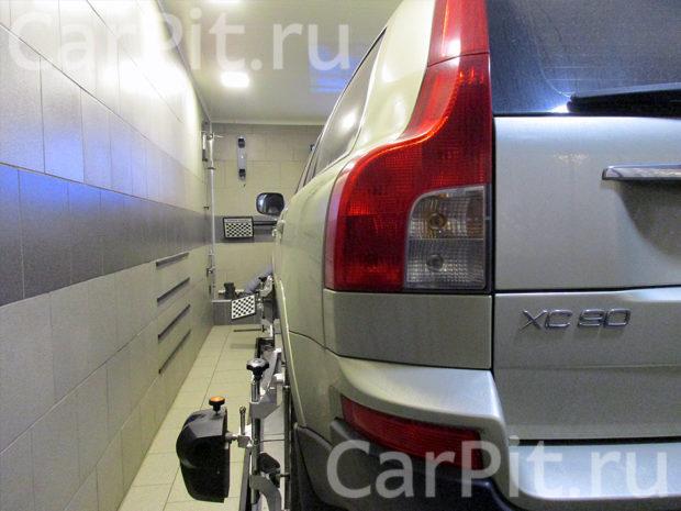Сход-развал Volvo XC90 - 2
