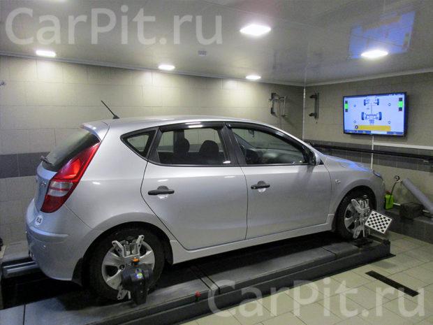 Сход-развал Hyundai i30 - 1