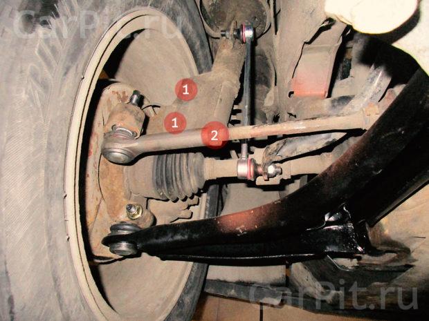 Сход-развал Dodge Caliber - 5