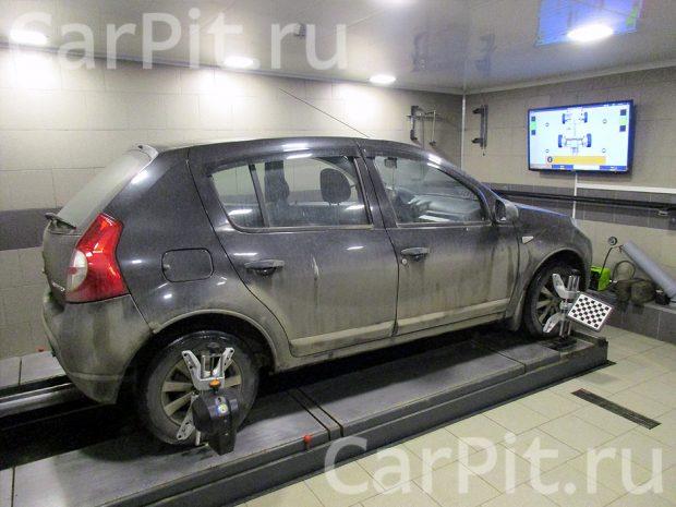 Сход-развал Renault Sandero - 1
