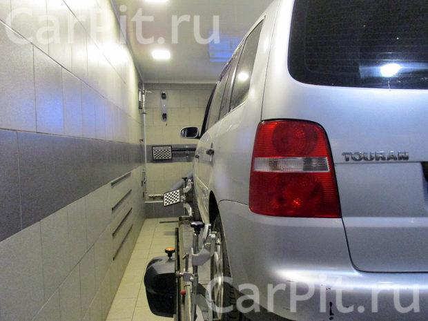 Сход-развал Volkswagen Touran - 2